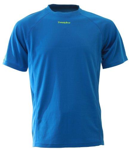 Twentyfour Herren Laufshirt Seven in vielen frischen Farben, Neonblau, XXL, 425721