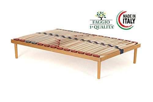 Rete piazza e mezza modello Dynamic misura 120x200 in legno di ...