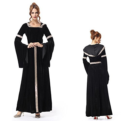 SEX Damen Sexy Kleidung Palast Prinzessin Langer Rock Hexe Cosplay (Phoenix Kostüm Cosplay)