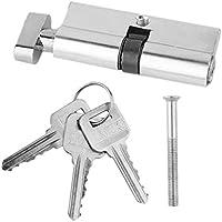 MUANI 70mm Alu-Türschließzylinder Home Security Anti-Snap 3 Schlüssel Anti-Diebstahl-Einzel Kleiner Flachkopf preisvergleich bei billige-tabletten.eu