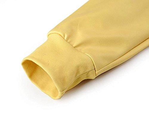 Felpa Con Cappuccio Felpa Da Uomo Stampa 3D Con Coulisse A Maniche Lunghe Con Cappuccio Maglia Traspirante Casual Con Grande Tasca Yellow
