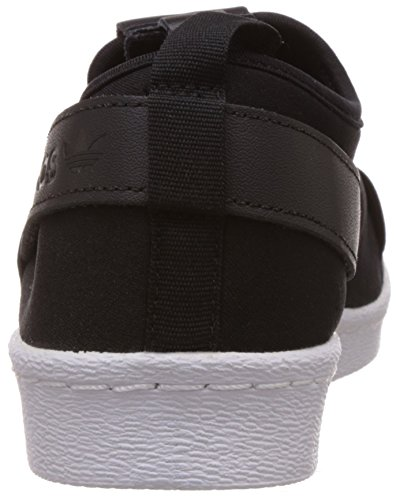 adidas Superstar Slip On W, Chaussures de Gymnastique Femme, Noir Nero (Cblack/Cblack/Ftwwht)