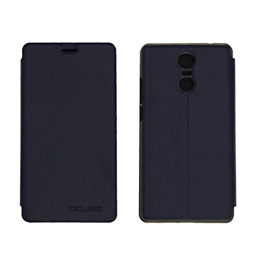 Guran® PU Leder Tasche Etui für Bluboo Maya Max Smartphone Flip Cover Stand Hülle Case-Dunkelblau