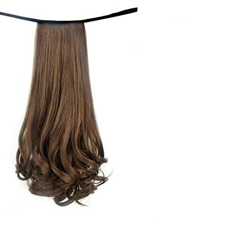 Longless Perücke Schwanz Birne roll Zopf Perücke weiblichen Bundle langes lockiges kurzes Haar roll Pferdeschwanz falschen pick (Kostüm Kaneki Weibliche)