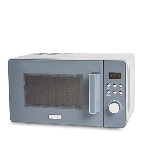 Haden Perth Sleek Slate Grey Microwave