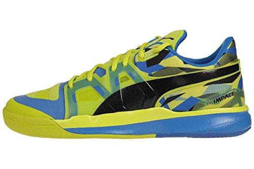 Puma Evoimpact 1, Chaussures indoor homme sulphur spring-black-cloisonné 01