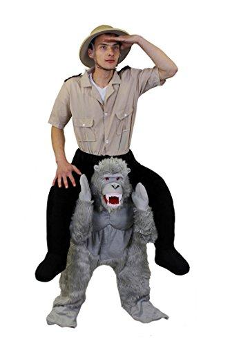 ILOVEFANCYDRESS Gorilla=TRAGE Mich+HEBE Mich HOCH-KOSTÜME DER SONDERKLASSE = ORIGENAL NUR VON Uns=GENAUE Beschreibung Siehe Details= DAS Gorilla KOSTÜM IST EIN EINHEITSGRÖSSEN KOSTÜM PAßT DEN - Gorilla Kostüm Piggy Back