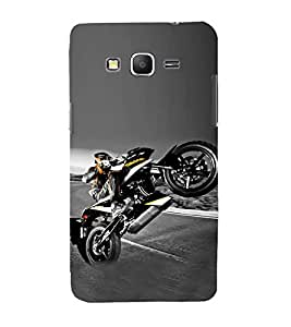 Fiobs Designer Back Case Cover for Samsung Galaxy Core Prime :: Samsung Galaxy Core Prime G360 :: Samsung Galaxy Core Prime Value Edition G361 :: Samsung Galaxy Win 2 Duos Tv G360Bt :: Samsung Galaxy Core Prime Duos (Bike Motorcycle Cool Vehicle Swag Boy )