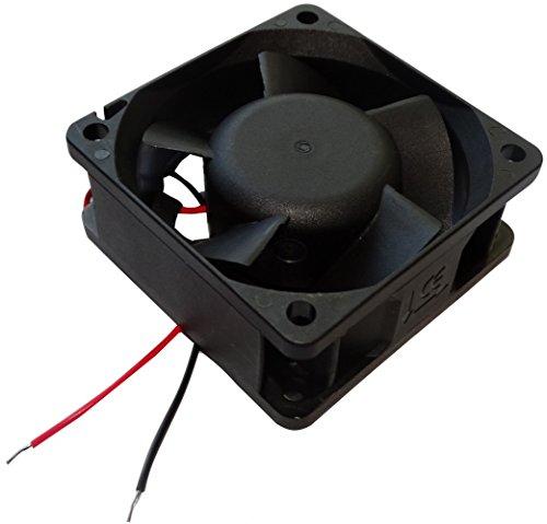 Aerzetix: Gehäuse Lüfter Gehäuselüfter Axial-Lüfter 24V 60x60x25mm 61,16m3/h 36dBA 6900rpm 4.3W 0.181A Vapo C14530 -