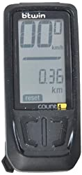 Btwin Bike-Computer-Count-4 Computer, Adult (Black)