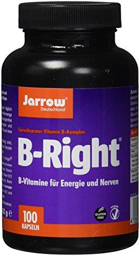 Jarrow B-Right, B-Vitamin-Komplex mit 8 B-Vitaminen plus