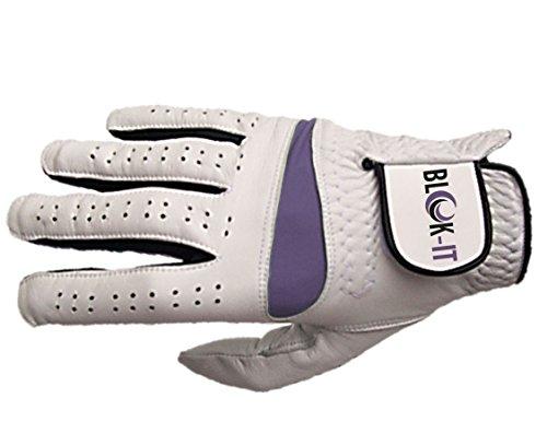 Blok-iT Golfhandschuh - Cabretta Leder (Purple, S, Right) -
