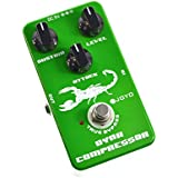 Joyo JF-10 Dynamic Compressor Pedal US Dealer w/ 2 Patch Cables