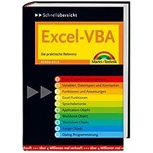 Excel-VBA Schnellübersicht: Die praktische Referenz (Schnellübersichten)