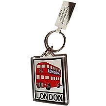 London Route Master doble Decker Bus Routemaster llavero acrílico UK Souvenir. Souvenir/Speicher/memoria. Fun, ligera y portátil de Londres, Inglaterra British UK Coleccionable de llavero. Un Londres inolvidable RECUERDO. Porte-clés/Schlüsselanhänger/Portachiavi/Llavero. S01