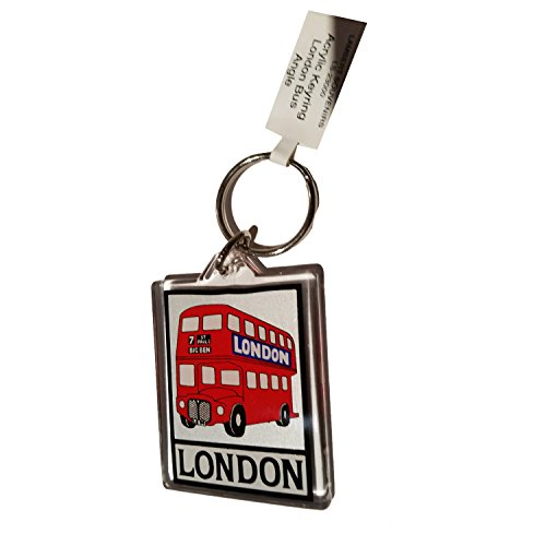 london-route-master-doble-decker-bus-routemaster-llavero-acrilico-uk-souvenir-souvenir-speicher-memo