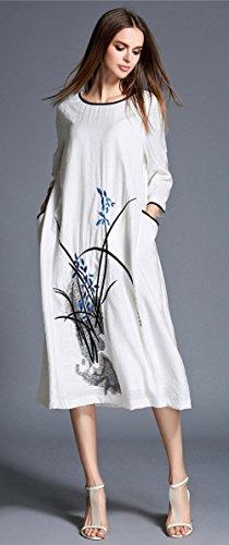 Lacus-UK - Robe - Femme 68 Blanc