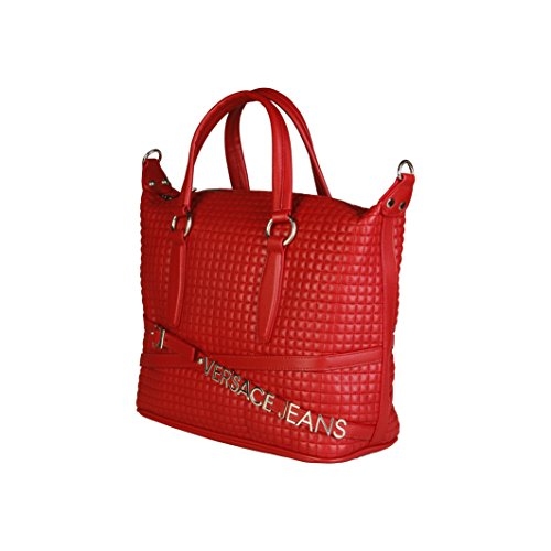 Versace Jeans, Borsa a tracolla donna, rosso Red
