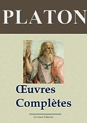 Platon : Oeuvres complètes - Les 43 titres (Annotés)
