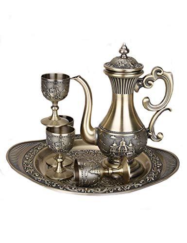 Cozyle Weinglas, chinesischer Stil, Legierung, Weinglas, Weinglas, Wein-Set, Haus- und...