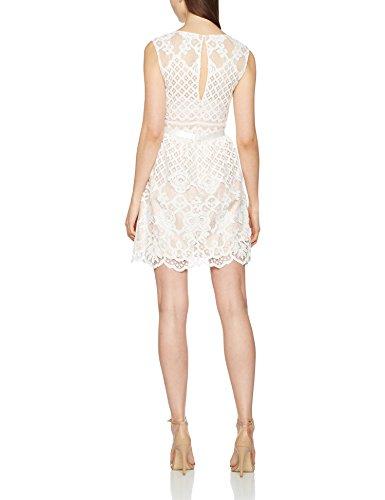 Laona Damen Partykleid Weiß (White)