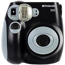 Polaroid PIC-300 - Cámara de película instantánea, color negro