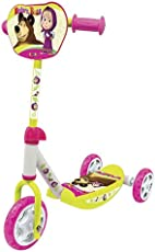 SMOBY 750100 Masha 3 Wheel Scooter