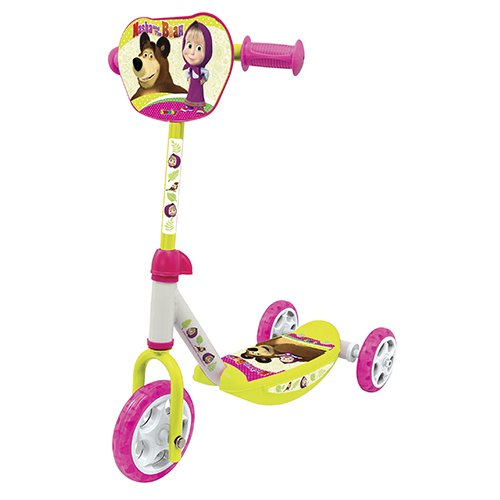 Smoby - 7/750100 - Masha et Michka - Patinette 3 Roues
