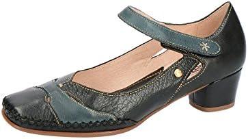 Pikolinos W6R-5836 Black - Zapatos de Vestir de Piel Lisa Para Mujer