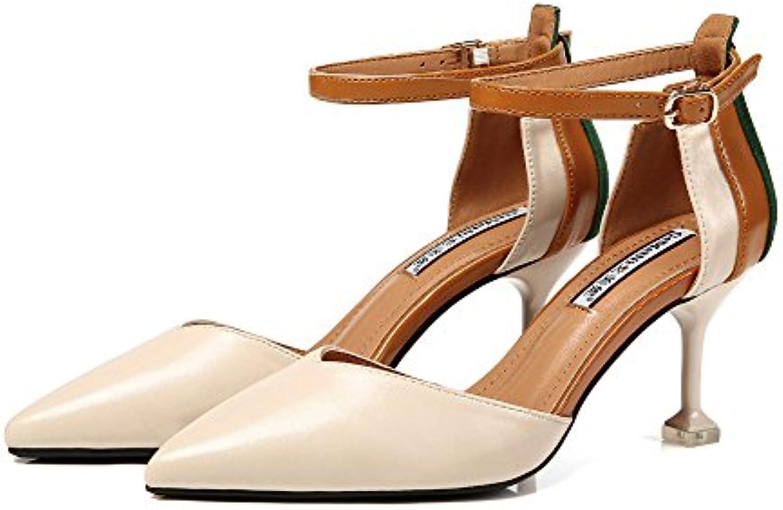 ef6c0a4834ab0 la femme a été haut talon talon talon sandales sexy stiletto talons travail  mariage pompes mesdames belle sangle orteil...b07cj9n9qk parent | à La Mode  ...
