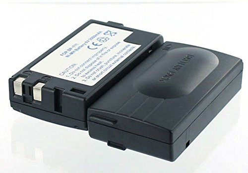 Akkuversum Ersatz Akku kompatibel mit Canon BP-711 Ersatzakku Camcorder Videokamera Bp-711 Camcorder