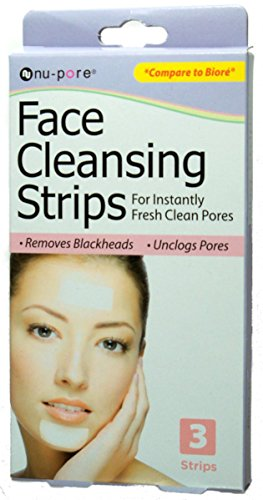 NU-PORE FACE CLEANSING STRIPS by nu-pore (Strips Nu Pore Cleansing)