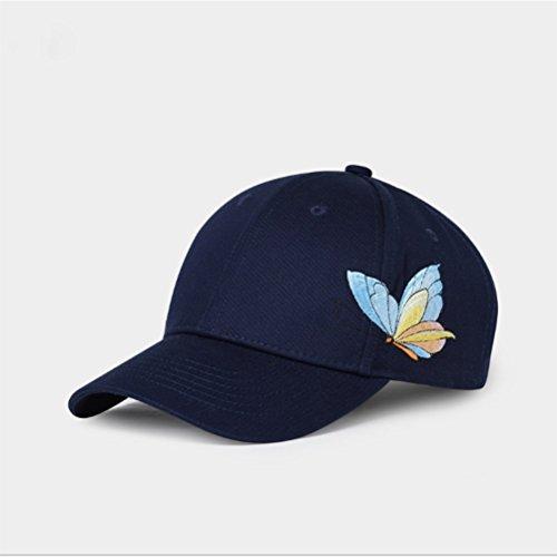 ap Brief Stickerei Atmungsaktiv Schatten Einstellbare Größe Männer Und Frauen Hut (Schwarz) (Zusammenklappbare Hut Schwarz Für Erwachsene)