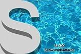 Schwimmbadfarbe Poolfarbe Swimmingpool Farbe Schwimmbeckenfarbe Schwimmbad Pool Beschichtung Weiss 1L - 3