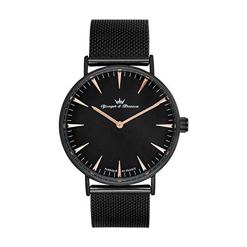 Orologio Yonger & Bresson Uomo Nero–HMN 075/AM