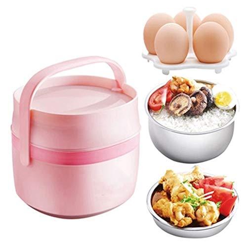 Elektrische Brotdose Mini 1.45L Tragbare Kleine Elektrische Inkubator Kann In Elektrische Kochen HeißEn Reis Angeschlossen Werden