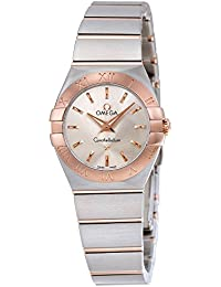 Omega 123.20.24.60.02.001 - Reloj (Reloj de pulsera, Femenino, Acero inoxidable, Oro, Acero inoxidable, Acero inoxidable, Oro, Acero inoxidable)