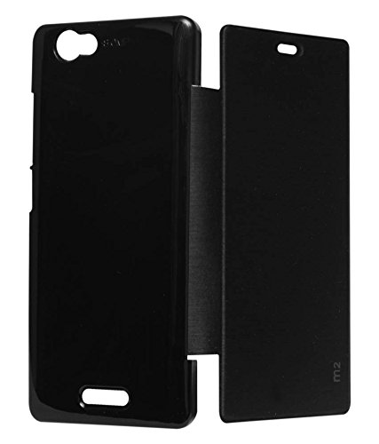 Evoque Flip Cover For Sony Xperia M2 Dual Black  available at amazon for Rs.149