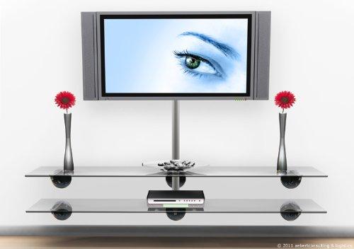 design alu kabelkanal big mouth lcd plasma klavierlack farbe silber l ngen 30cm 50cm. Black Bedroom Furniture Sets. Home Design Ideas
