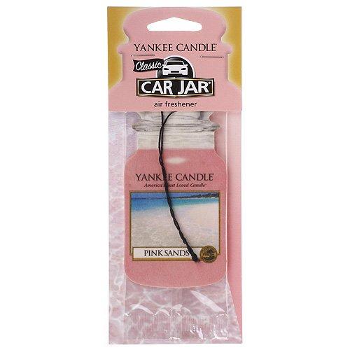 YANKEE CANDLE - Deodorante per Auto, fragranza Pink Sands.