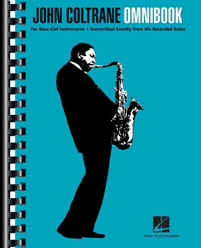 John Coltrane Omnibook: For Bass Clef Instruments