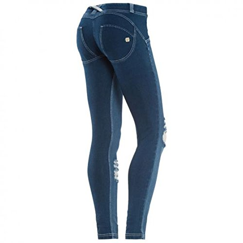 JEANS DONNA WR.UP® - VITA BASSA - WRUP1GLJ4E - (L - JO-W) (Distressed Schuhe Canvas)
