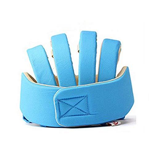 chutz für Babys, Kleinkinder, Verstellbarer Kopfschutz, Schutzkappe blau ()