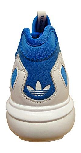 adidas Herren Tubular Runner Weave Laufschuhe blue bird white white AF5808
