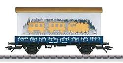 Märklin Flachwagen 48412 H0 Märklin Weihnachtswagen 2012