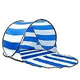 XAJGW Accessoire Lab Beach - Tente de plage escamotable - Utilisez-le pour les vacances à la plage, les voyages, les articles pour cabanes, les abris solaires, les stores, les stores - Utilisez avec d