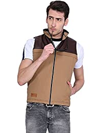 VERSATYL Men's Reversible Sleeveless Jacket with 11 Pockets & RFID Protection (World 1st Sleevelees Jacket with RFID Protection)