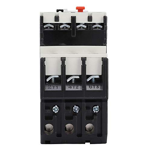 Disyuntor eléctrico NR2-25, relé de sobrecarga térmica de protección del motor ajustable(1-1.6A)