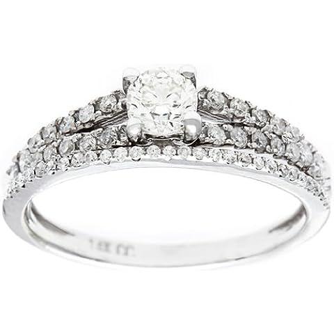 Donna anello di fidanzamento 14 K oro