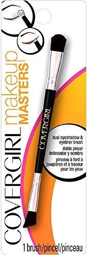 CoverGirl Makeup Masters Dual Eyeshadow & Eyeliner Brush 1 ea by COVERGIRL